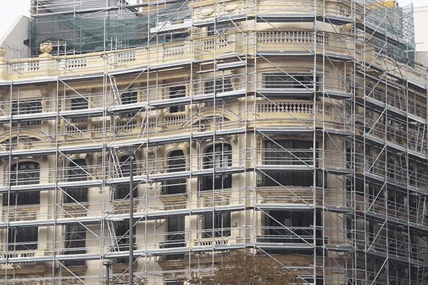Rehabilitación Edificio Coruña